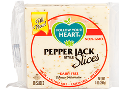 Follow Your Heart Pepper Jack Style Slices