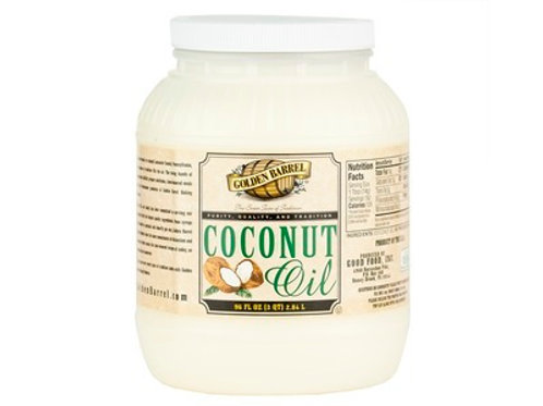 Golden Barrel Coconut Oil - 96oz