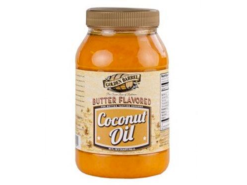 Golden Barrel Butter Flavored Coconut Oil