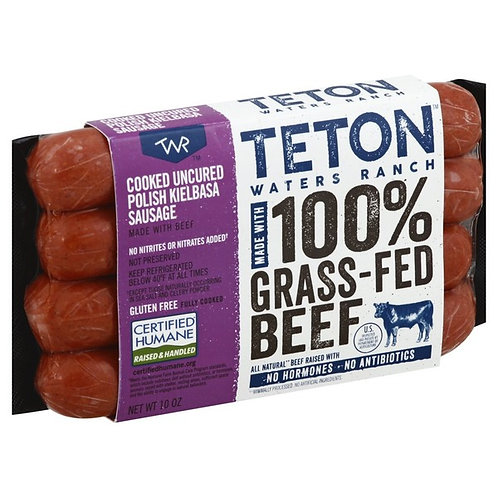 Teton Waters Ranch Uncured Beef Polish Kielbasa