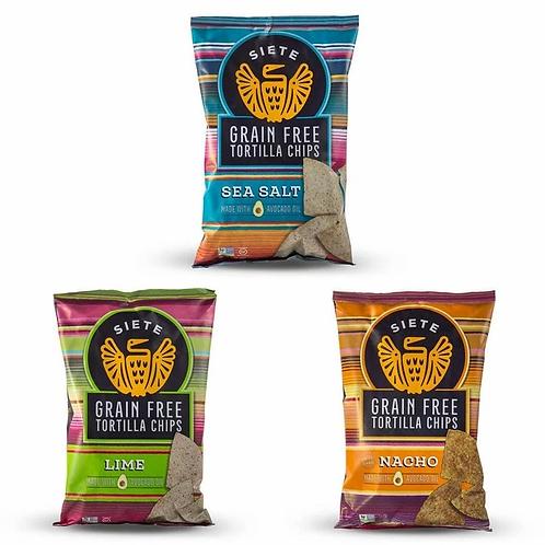 Siete Tortilla Chips - 3 Flavors