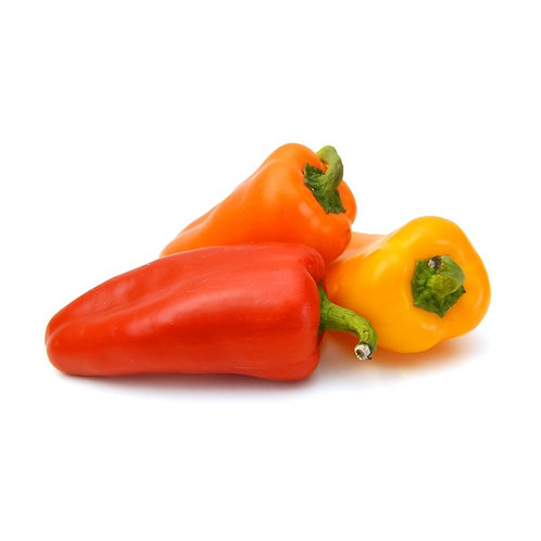 Organic Sweet Mini Peppers - 1lb Bag
