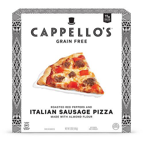 Cappellos Grain Free Italian Sausage Pizza