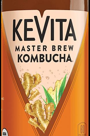 Kevita Organic Ginger Master Brew Kombucha