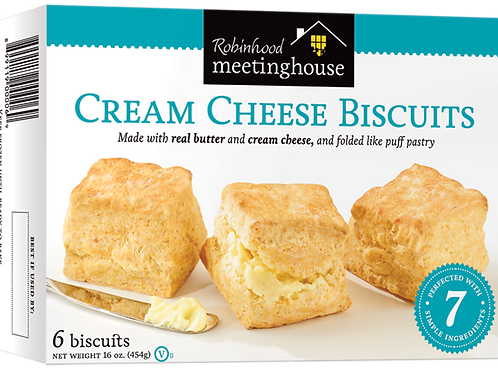 Robinhood Meetinghouse Cream Cheese Biscuits