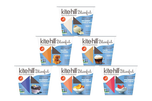 Kitehill Blissful Plant Based Yogurt - 3 Flavor Options