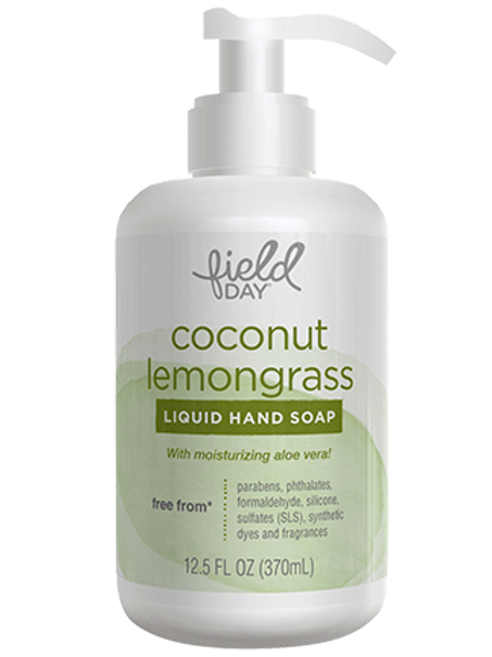 Field Day Coconut Lemongrass Liquid Hand Soap