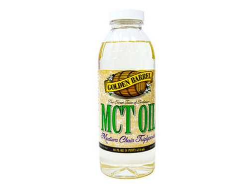 Golden Barrel MCT Oil - 16oz