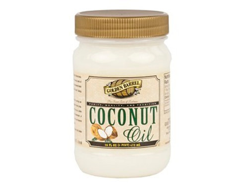 Golden Barrel Coconut Oil - 16oz