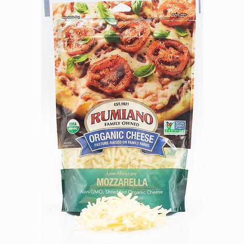 Rumiano Organic Mozzarella Cheese Shreds