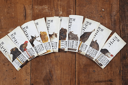 EPIC Bars - 10 Flavor Options