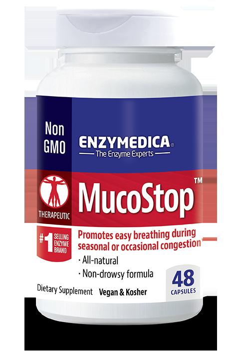 Enzymedica MucoStop - 48 cap