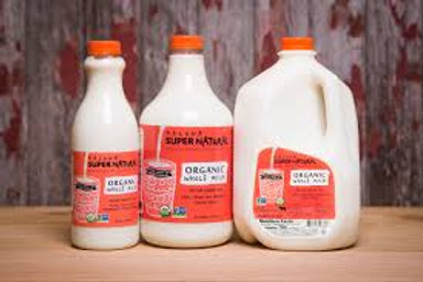 Kalona Super Natural Organic Whole Milk - 2 Sizes