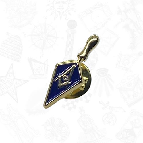 Masonic Passport with Trowel Pin