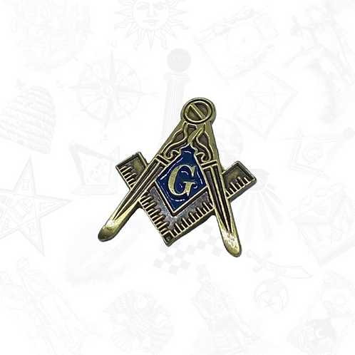 Masonic Passport & Antique Gold Lapel Pin