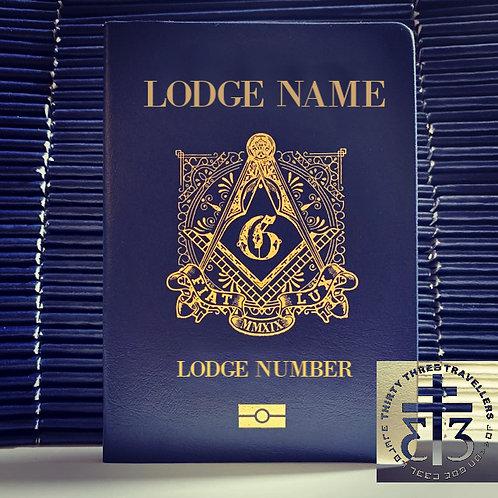 Personalize masonic passport