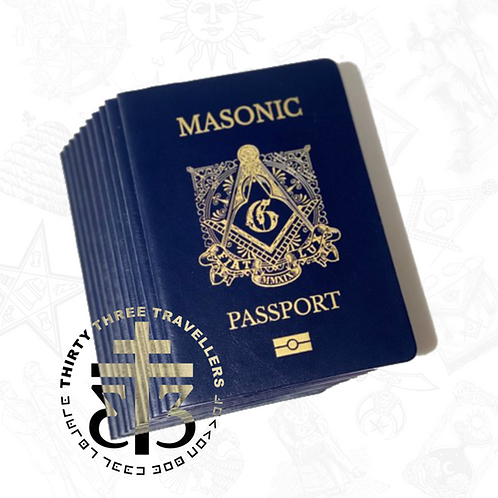 Masonic Passport Bundle 10 Sets