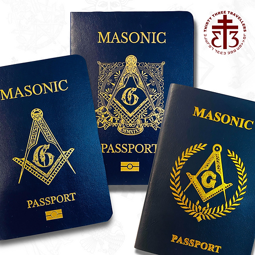 Collector's Request Limited Masonic Passports