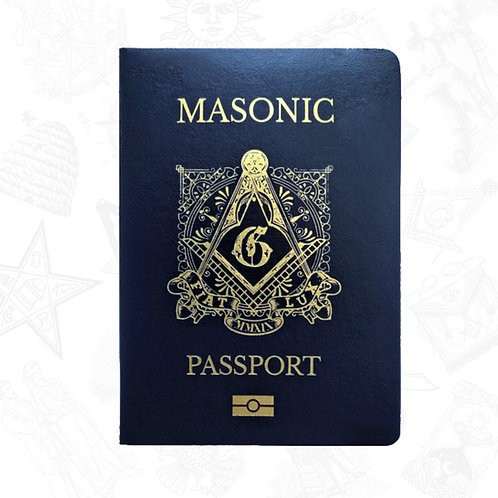 Freemasonry Masonic Passport by 33Travellers