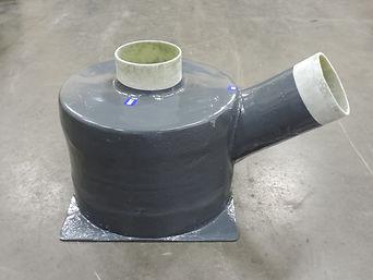 Fiberglass Water Lift Muffler