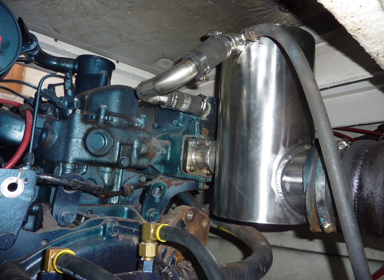 175 Hino Riser Can Installed