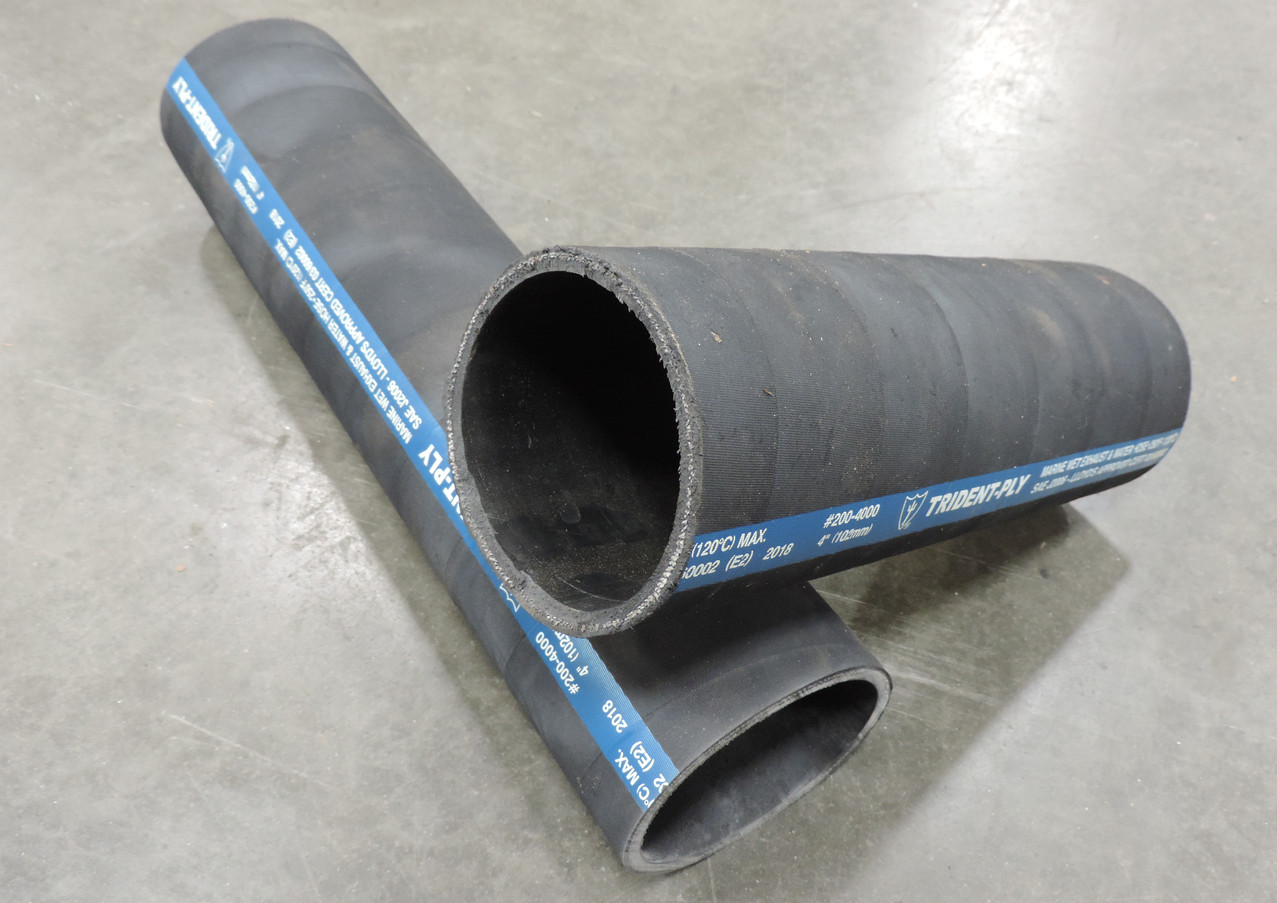 Soft Wall Black Rubber Hose
