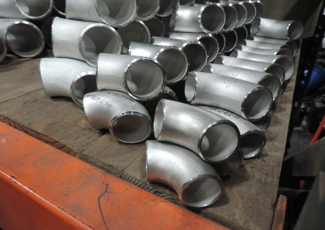 Stock Pipe Elbows