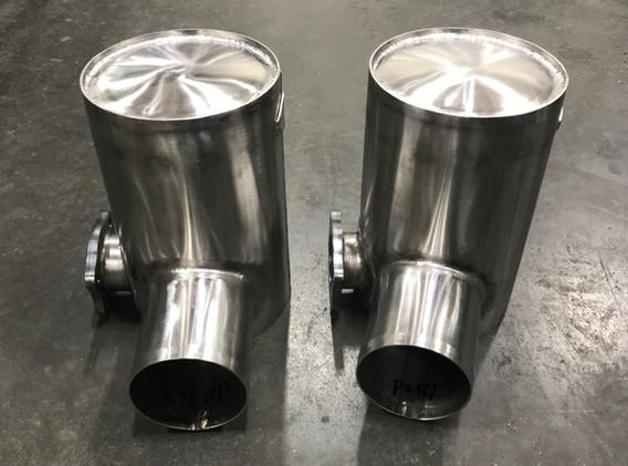 150 Hino Riser Cans Port + Stbd