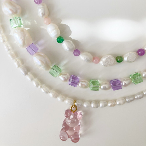 Jelly bears necklace