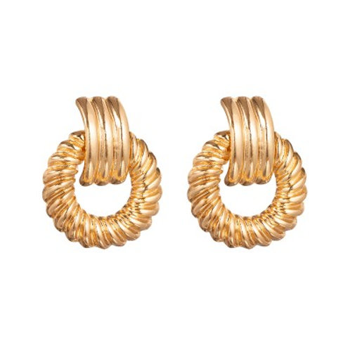 ATHENS EARRINGS GOLD