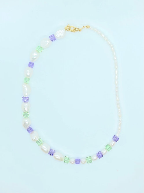 Swarovski Cubes Necklace