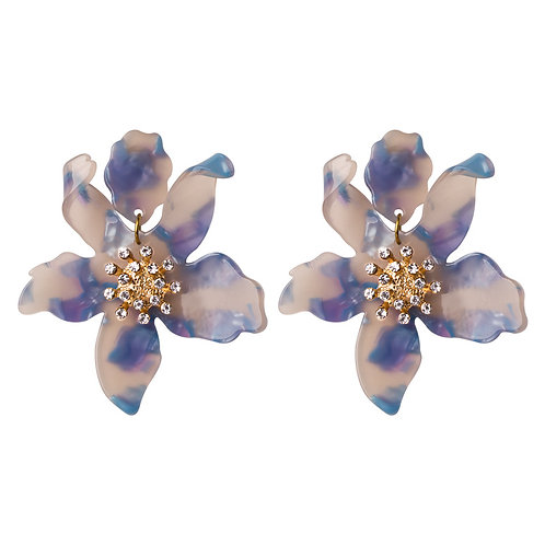 JASMINE EARRINGS PASTEL CAMO