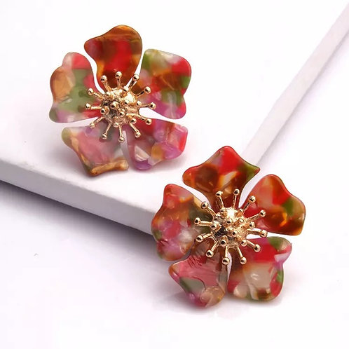 LILY EARRINGS RED