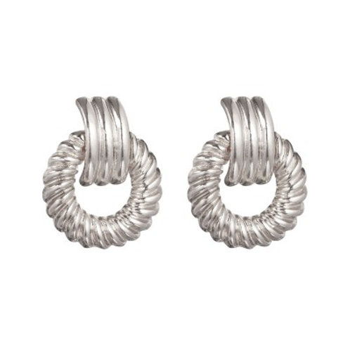 ATHENS EARRINGS SILVER