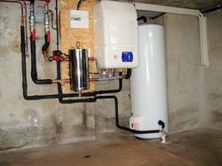 Installation pompe à chaleur Air Eau Villargondran