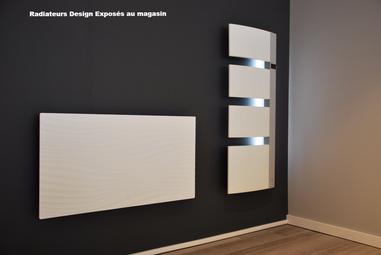Exemple de radiateurs exposés à St Jean de Maurienne