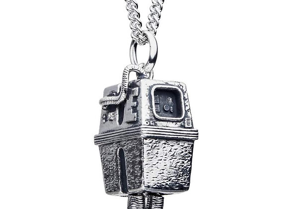 Star Wars Gonk Droid Necklace in Sterling Silver