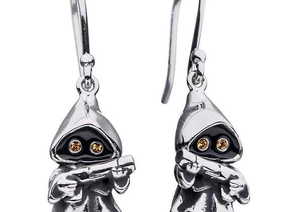 Star Wars Jawa Earrings in Sterling Silver
