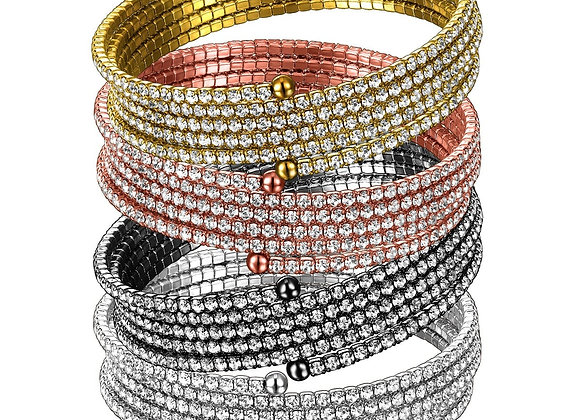 5 Row Twistals Bracelet