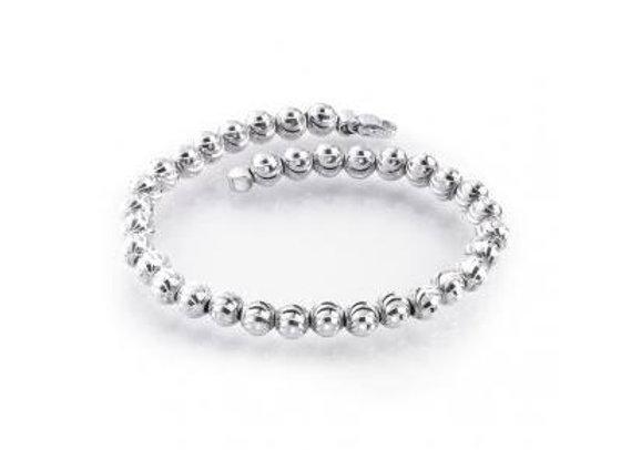 Sterling Silver Gothic Mars Bracelet 7 inch