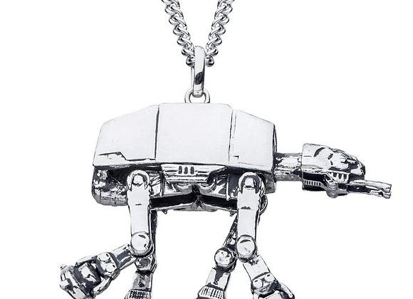 Star Wars AT-AT Necklace in Sterling Silver