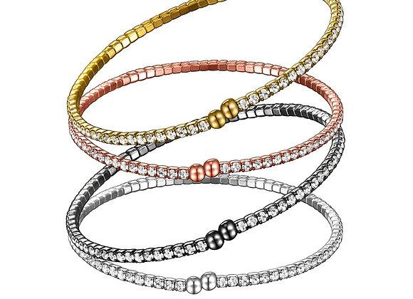 Single Row Twistals Bracelet