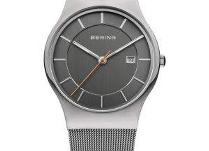 Men's Stainless Steel Classic with Gray Dial