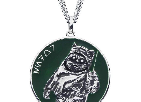 Star Wars Endor Necklace in Sterling Silver