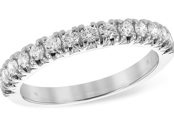 14k Gold 1/2ct Diamond Band