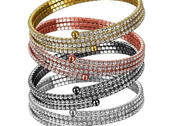 3 Row Twistals Bracelet