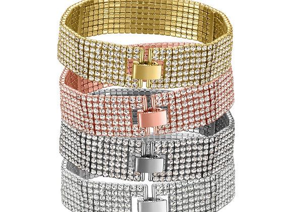 7 Line Tennis Twistals Bracelet