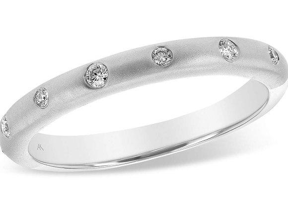 14k Gold 7 Diamond Ring