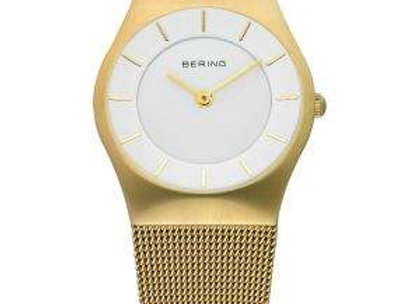 Ladies Gold Tone Stainless Steel Classic