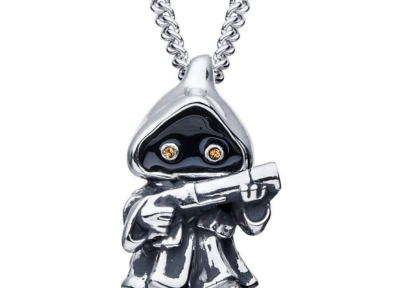 Star Wars Jawa Necklace in Sterling Silver